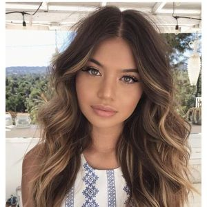 Accessories Chestnut Brown To Blonde Ombr Synthetic Hair Poshmark